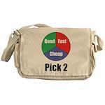 Good Fast Cheap Messenger Bag