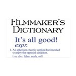Film Dictionary: All Good! 38.5 x 24.5 Wall Peel