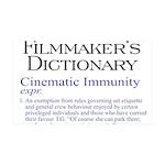 Cinematic Immunity 38.5 x 24.5 Wall Peel