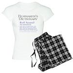 Film Dctnry: Roll Sound! Women's Light Pajamas