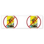 No Fools! Sticker (Bumper 50 pk)