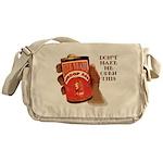 Can 'O Whoop Ass Messenger Bag