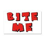 Bite Me! design Car Magnet 20 x 12