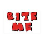 Bite Me! design 38.5 x 24.5 Wall Peel