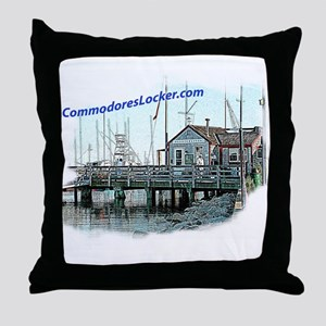 Commodores Locker Throw Pillow