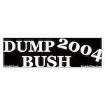 Dump Bush Bumper Sticker
