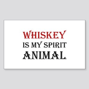 Whiskey Spirit Animal Sticker