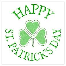Shamrock St. Patrick's Day Poster
