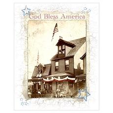 """""""God Bless America"""" Poster"""