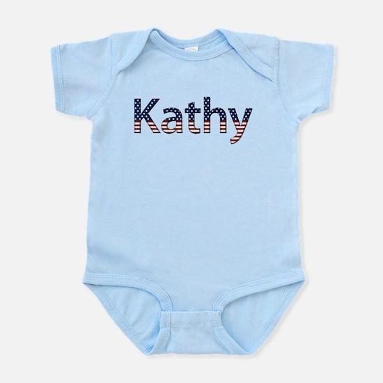 Kathy Stars and Stripes Infant Bodysuit