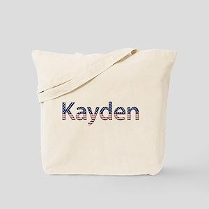 Kayden Stars and Stripes Tote Bag