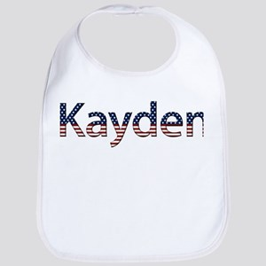 Kayden Stars and Stripes Bib