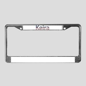 Keira Stars and Stripes License Plate Frame