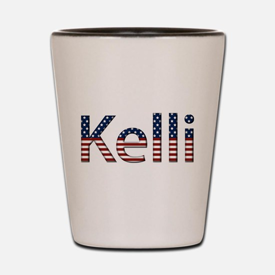 Kelli Stars and Stripes Shot Glass