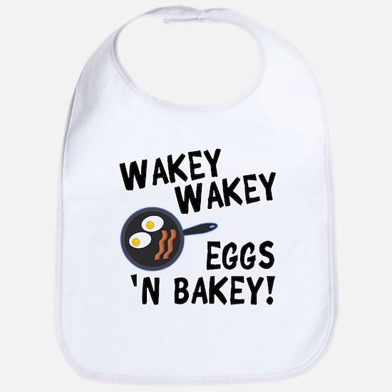 Bacon And Eggs Baby Bib