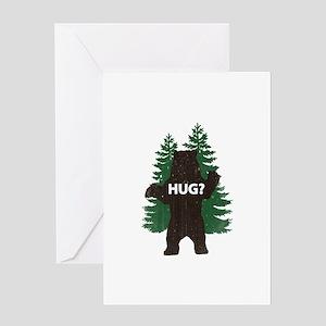 Bear hug? Greeting Card