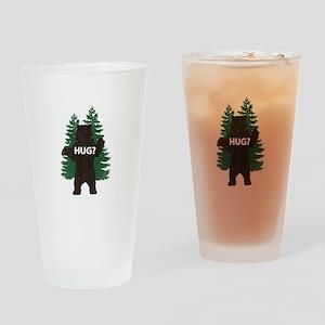 Bear hug? Drinking Glass