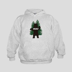 Bear hug? Kids Hoodie