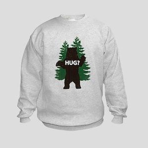 Bear hug? Kids Sweatshirt