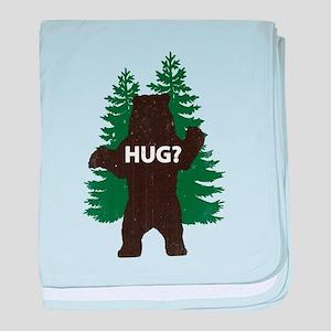 Bear hug? baby blanket