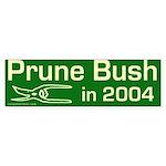 Prune Bush 2004 Bumper Sticker