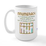 Innumeracy Large Mug