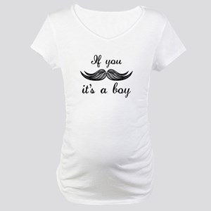 It's A Boy Maternity T-Shirt