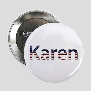 Karen Stars and Stripes Button