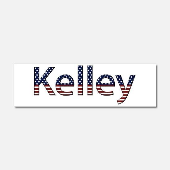 Kelley Stars and Stripes 10x3 Car Magnet