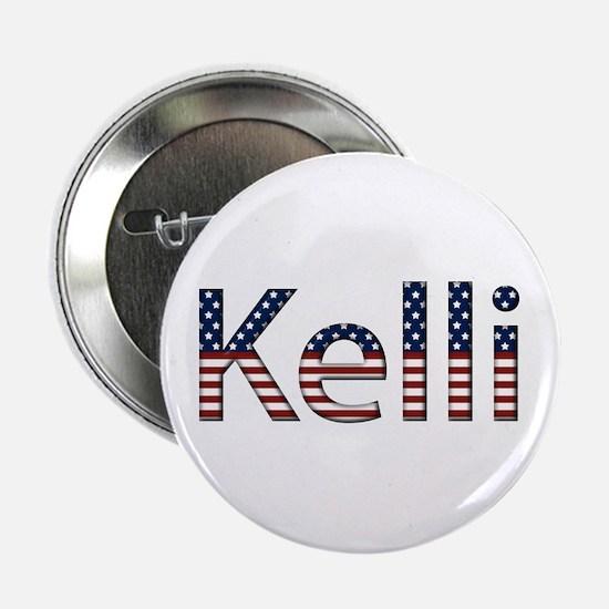 Kelli Stars and Stripes Button