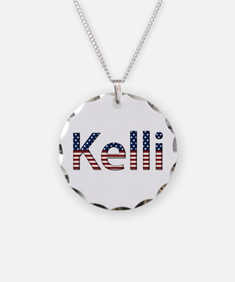 Kelli Stars and Stripes Necklace
