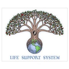 Life Support Canvas Art