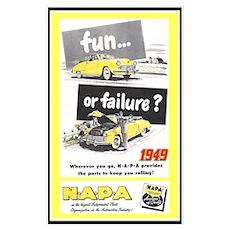 """""""1949 NAPA Ad"""" Poster"""