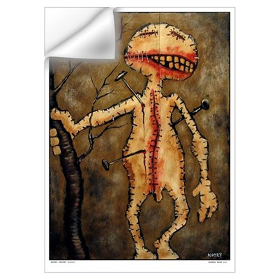 "Angry Johnny ""Voodoo Town #11"" Large Wall Decal"