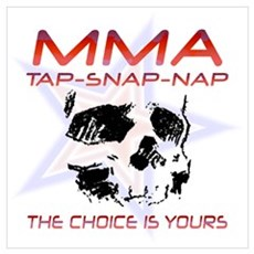MMA Shirts and Gifts Poster