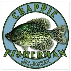 Click to view Crappie product Framed Print