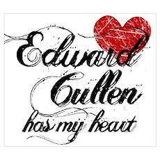 Edward Has My Heart Poster