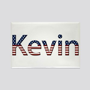 Kevin Stars and Stripes Rectangle Magnet