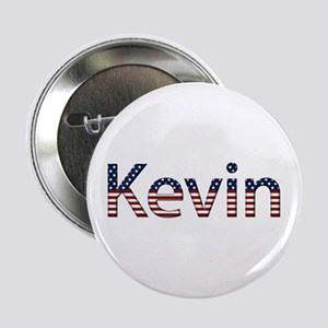 Kevin Stars and Stripes Button