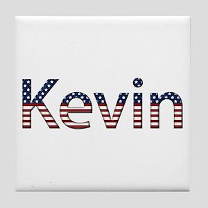 Kevin Stars and Stripes Tile Coaster
