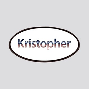 Kristopher Stars and Stripes Patch
