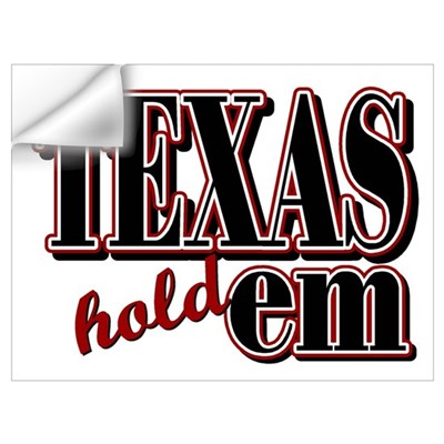Texas Hold'em Wall Decal