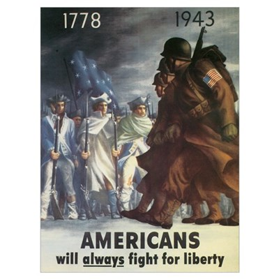 Americans Will Always Fight F Poster