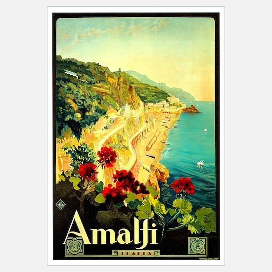 Vintage Amalfi Italy Travel