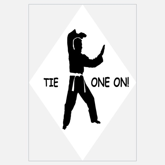 Cute Karate quips Wall Art
