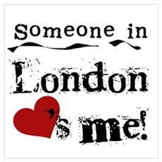 Someone in London Poster
