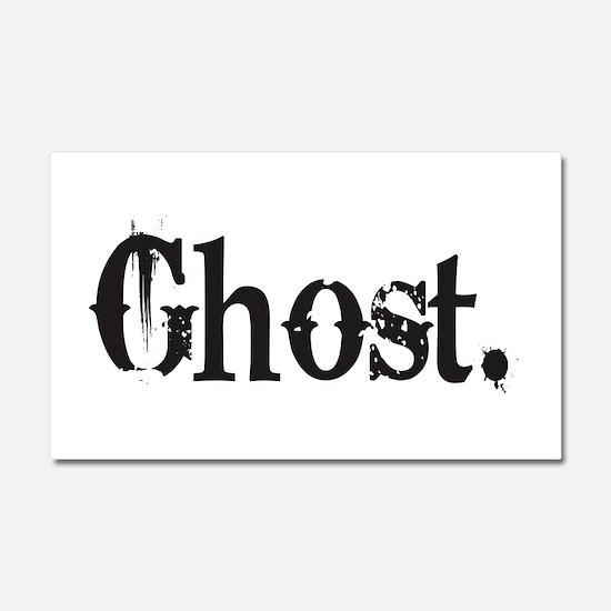 Grunge Ghost Car Magnet 20 x 12