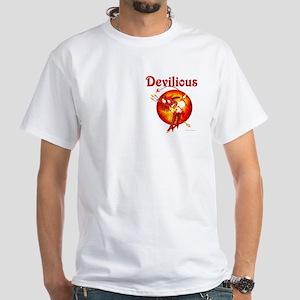 Devilious White T-Shirt