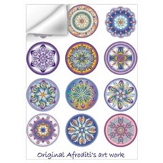Healing Mandala Wall Decal