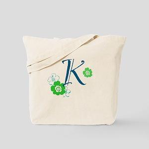 K Letter Tote Bag